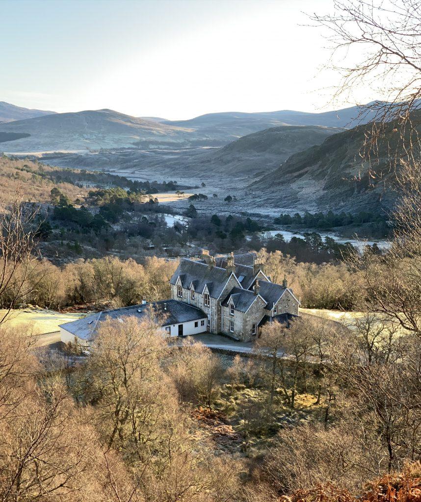 Alladale accommodation in rewilding Highlands